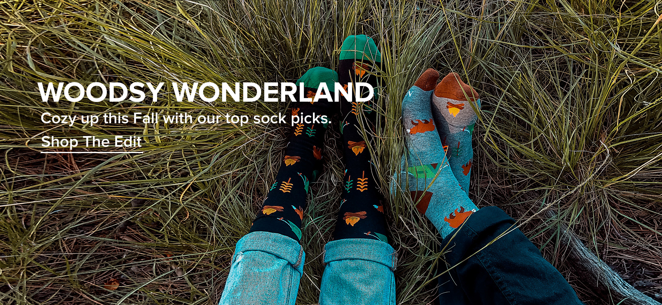 Cozy up this Fall with out top sock picks. Click to shop socks.