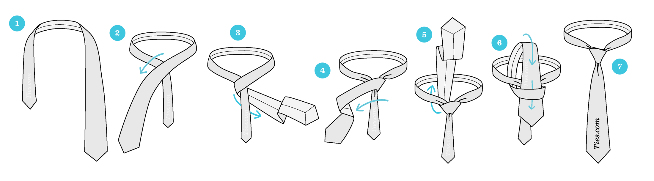 The easiest way to tie a tie ties how to easily tie a tie by yourself ccuart Gallery