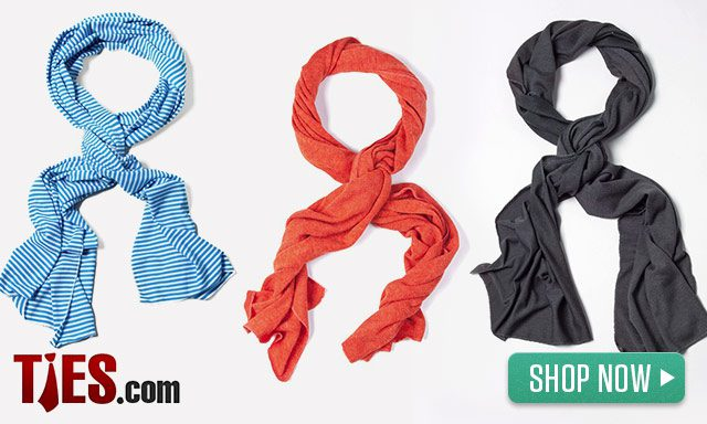 Men's Scarves from Ties.com