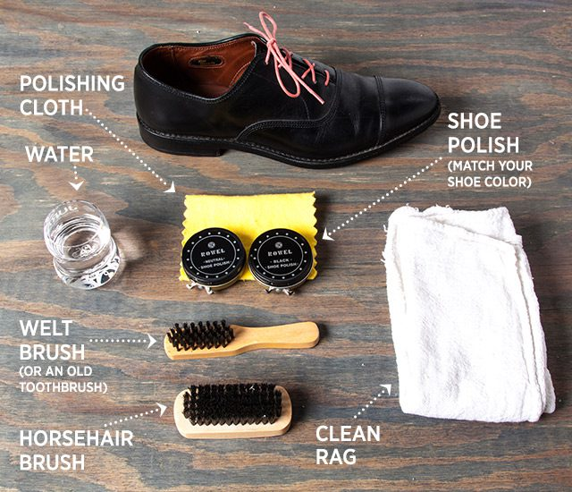 lower price with on wholesale preview of How to Shine Your Shoes the Right Way - The GentleManual | A ...