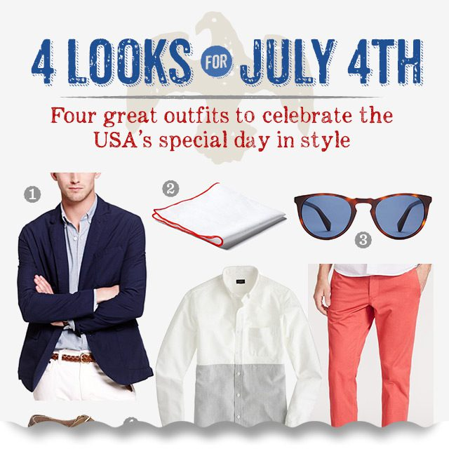 4 Looks for the 4th of July