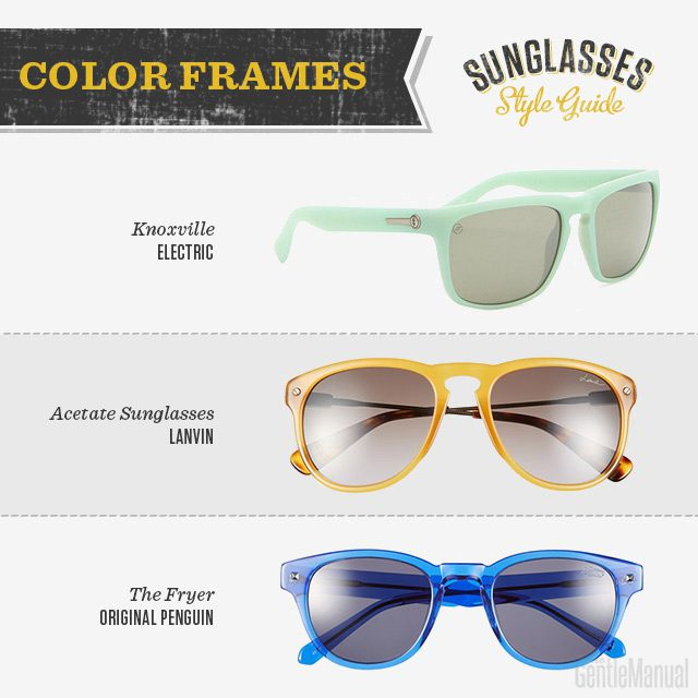 Eyeglasses Frame Color Guide : Sunglasses Style Guide: 9 Best Sunglasses Trends and ...