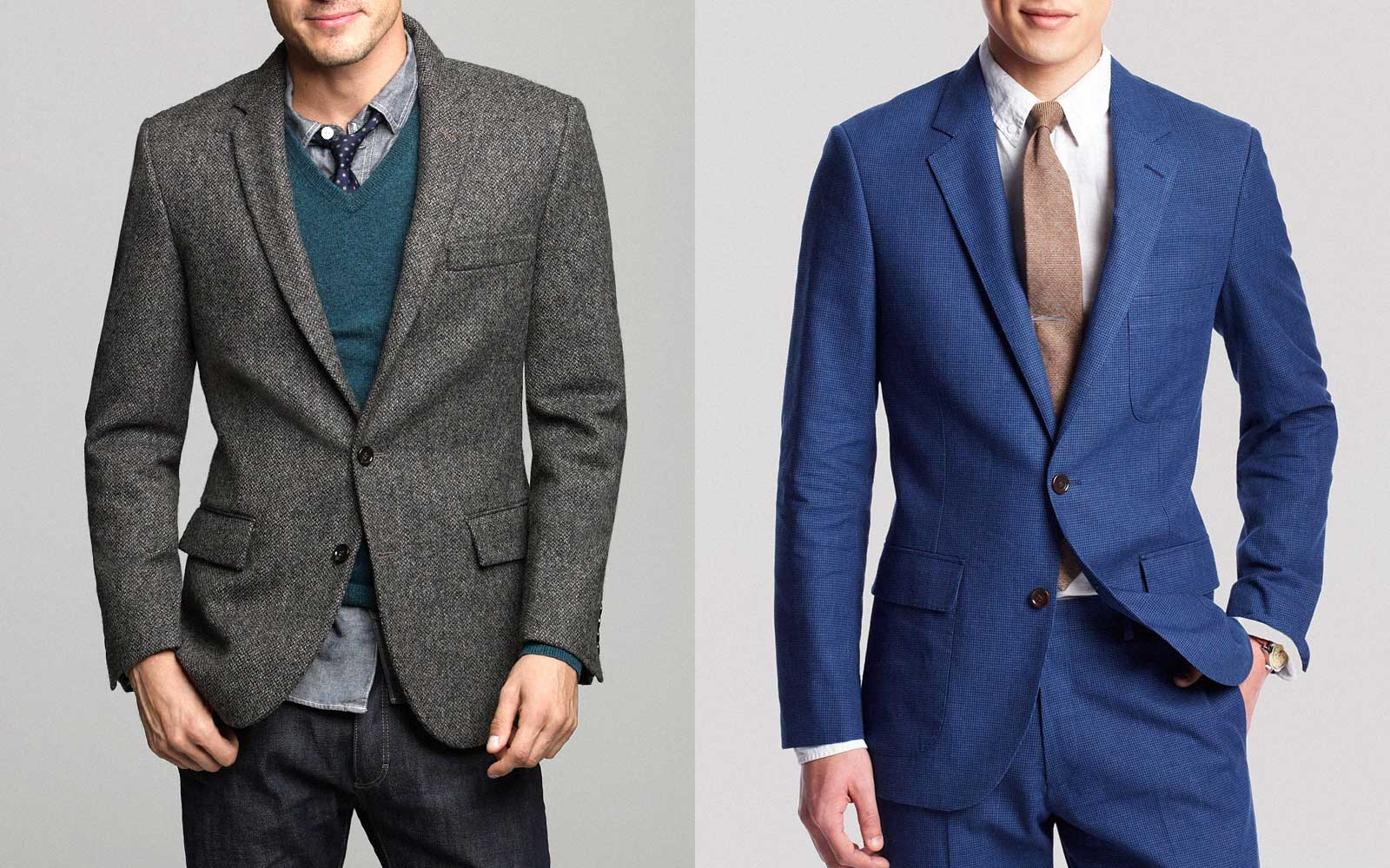 Suit Jacket vs. Sport Coat