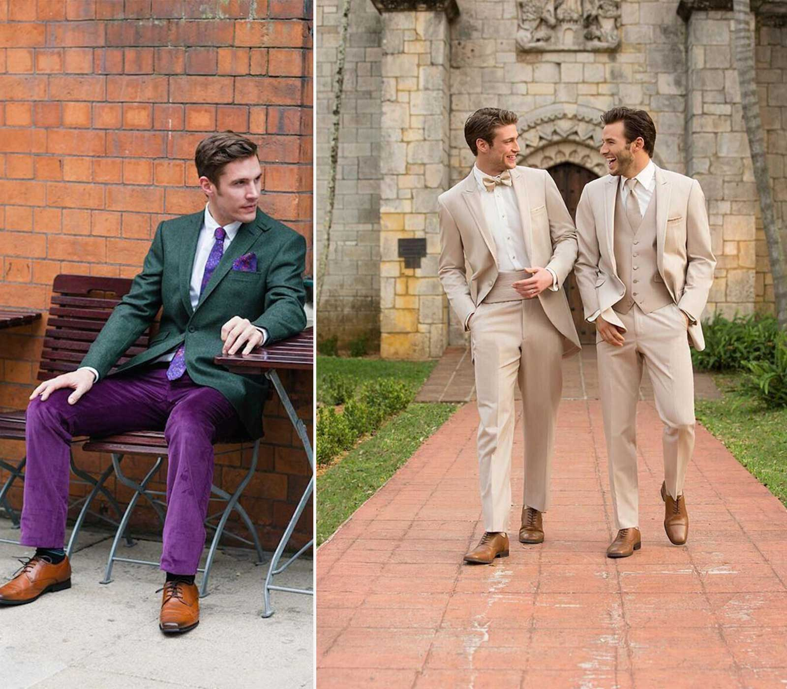 Style-Tips-Dapper-Wedding-Colorful-Suit