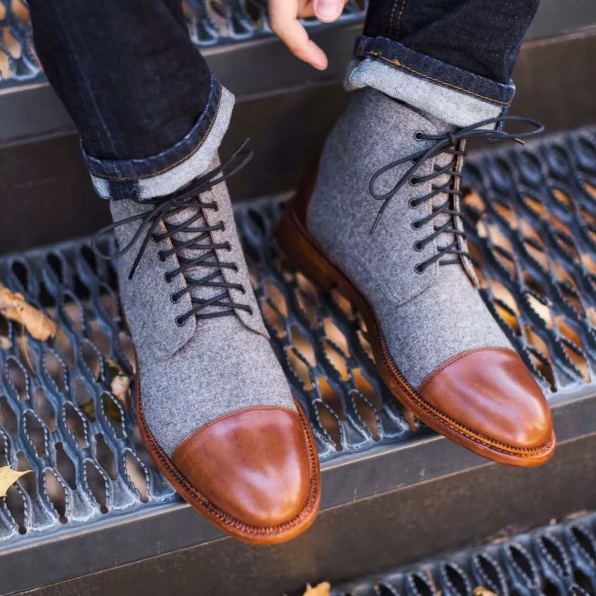 Taft Two Tone Boots