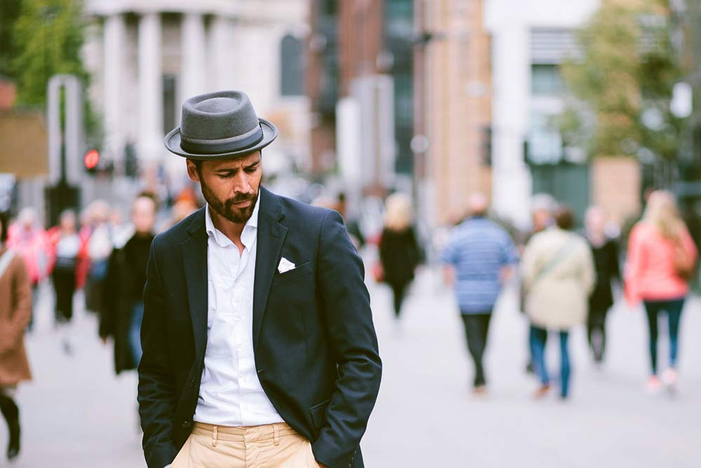 7b36f634b358e The pork pie hat has gone through several revamps to get to the style  that s worn today. Made of both straw and felt
