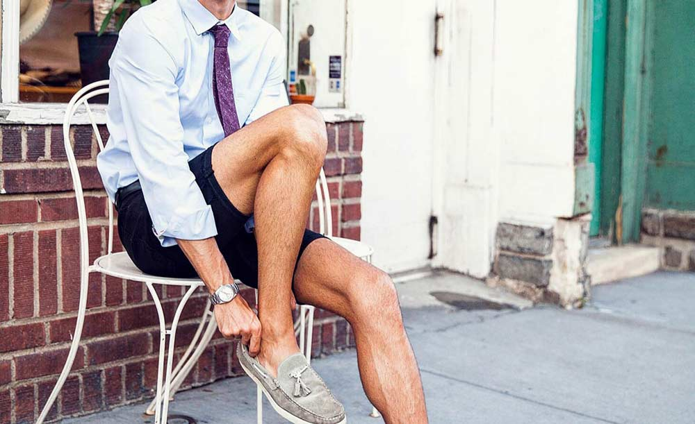 summer shorts on Nick Pinsker @thekingof5thave