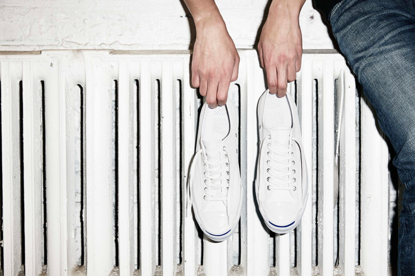 White Jack Purcell sneakers