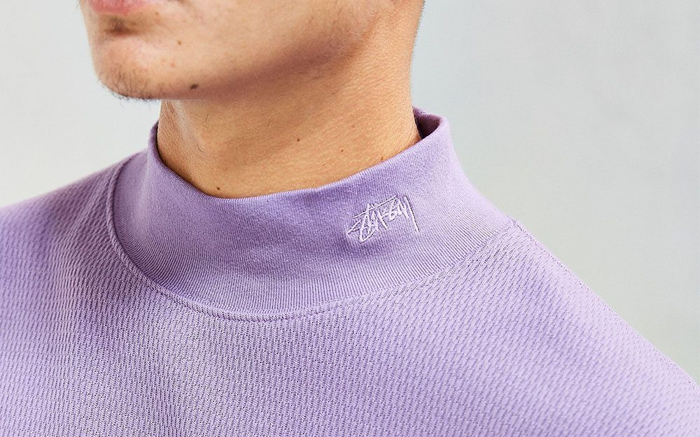 Mock Neck Sweater Stussy