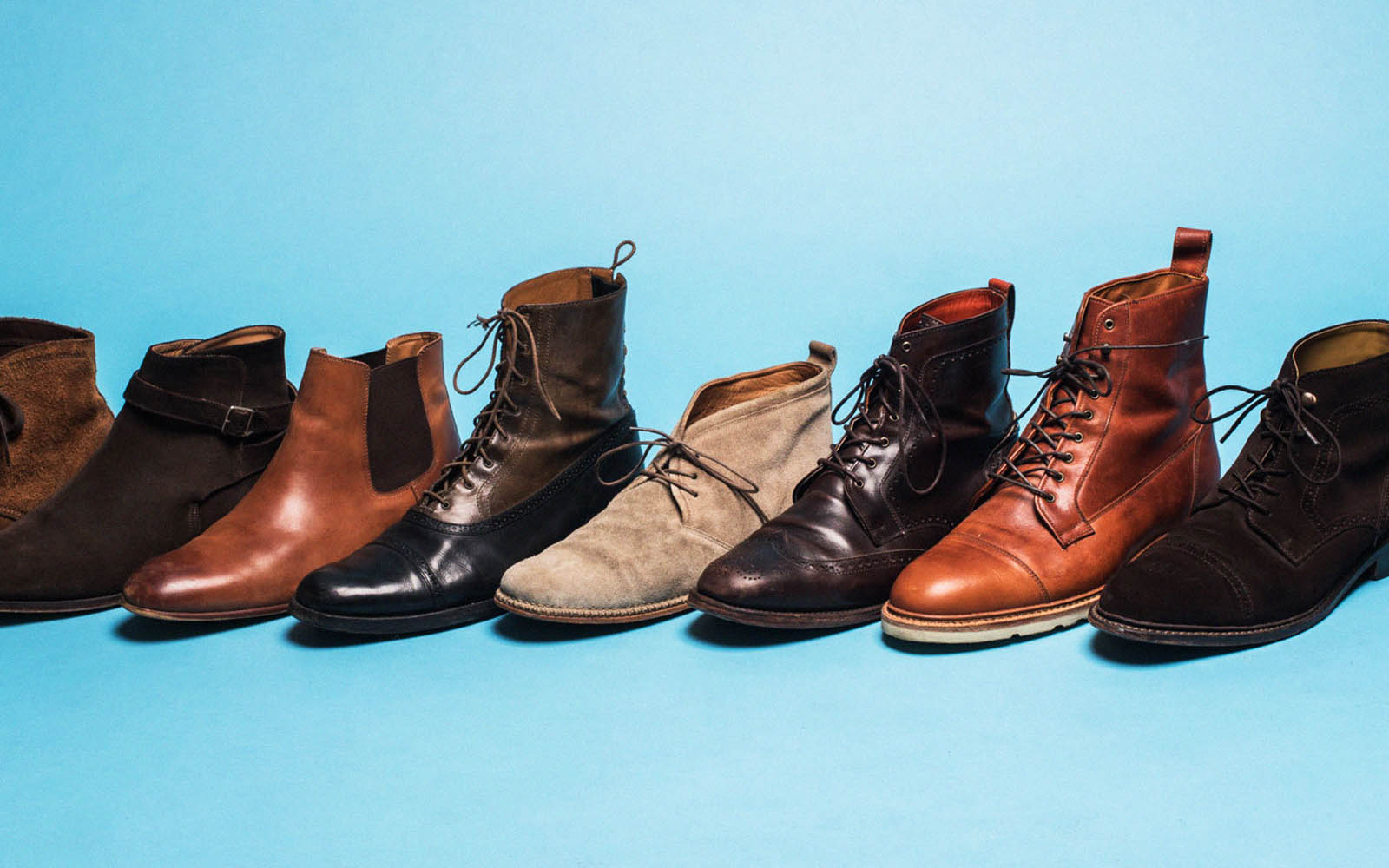 Collection of mens boots