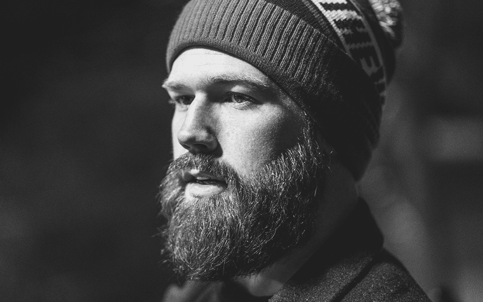 Bearded Man Wearing Beanie