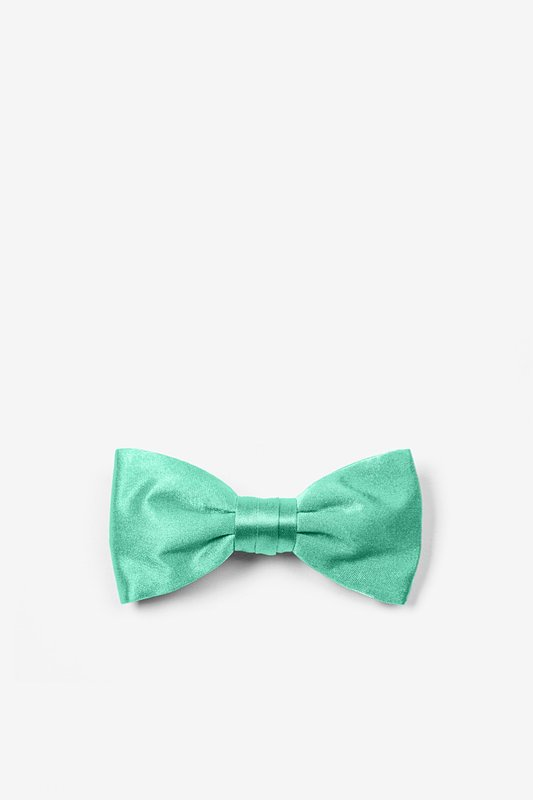 Aqua Bow Tie For Infants Photo (0)