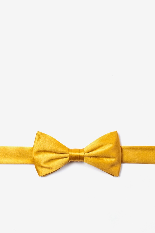 Artisans Gold Bow Tie For Boys Photo (0)