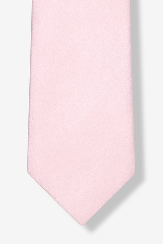 Baby Pink Extra Long Tie Photo (2)