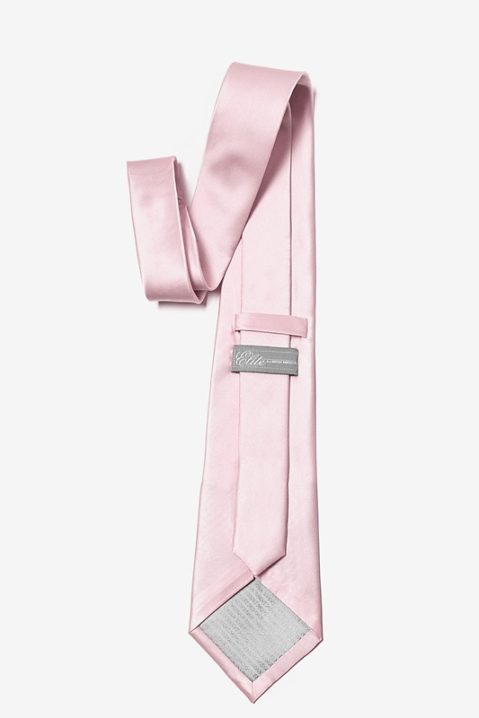Baby Pink Extra Long Tie Photo (1)