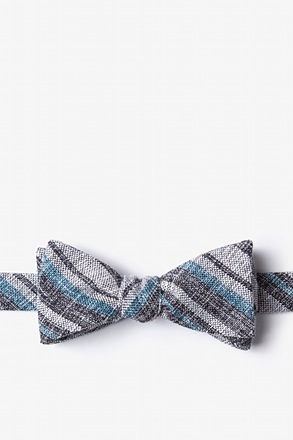 Katy Black Skinny Bow Tie