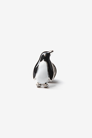 Penguin Black Lapel Pin