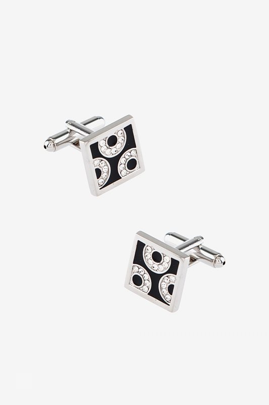 Square Regal Black Cufflinks Photo (0)