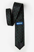 Shamrocks Black Extra Long Tie Photo (1)