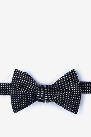 _Groote Black Self-Tie Bow Tie_