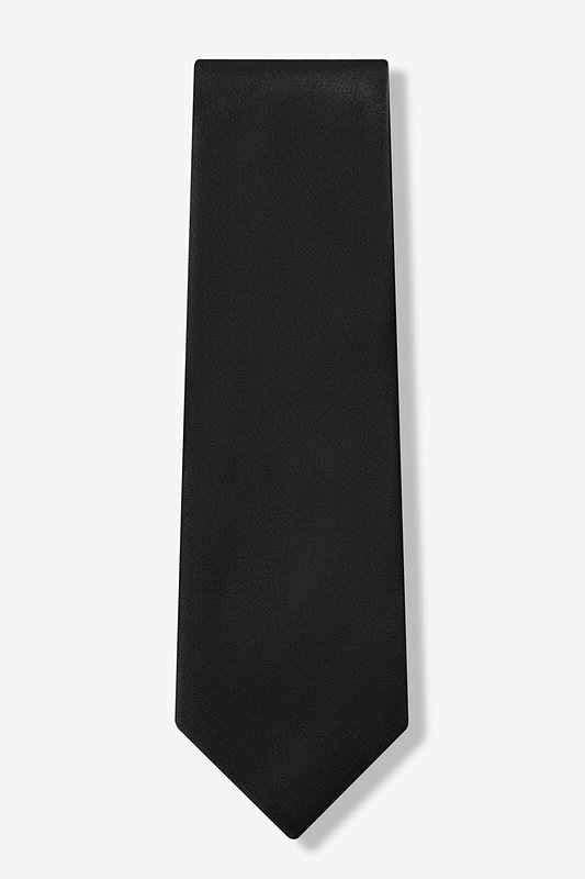 The Essential Black Extra Long Tie Photo (1)