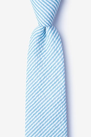 Clyde Blue Extra Long Tie