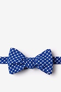 Descanso Blue Self-Tie Bow Tie Photo (0)