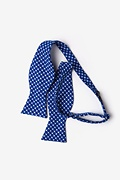 Descanso Blue Self-Tie Bow Tie Photo (1)