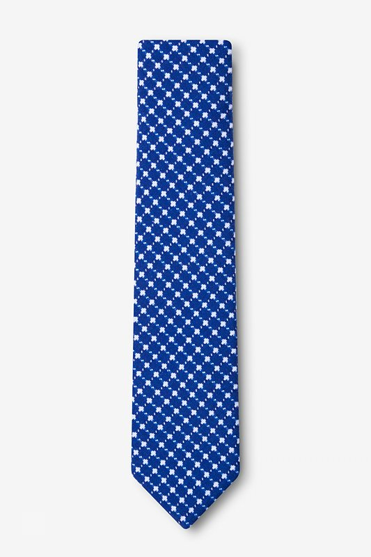 Descanso Blue Skinny Tie Photo (1)