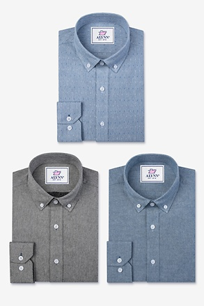 Keep It Casual Blue Shirt Pack