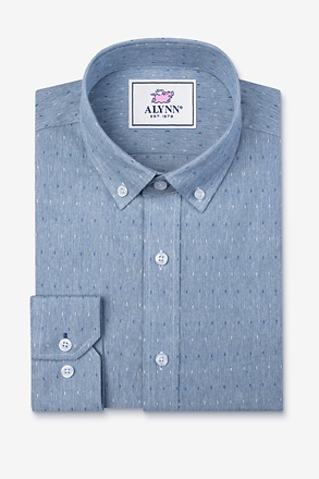 Mason Blue Classic Fit Casual Shirt