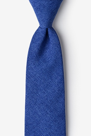 Tioga Blue Extra Long Tie