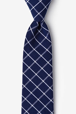 Tucson Blue Extra Long Tie
