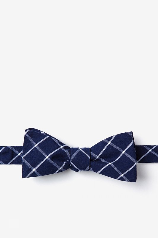 Tucson Blue Skinny Bow Tie Photo (0)
