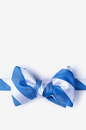 Berkner Blue Self-Tie Bow Tie