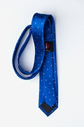 Gotland Blue Skinny Tie Photo (1)