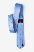 Wooley Blue Skinny Tie Photo (1)