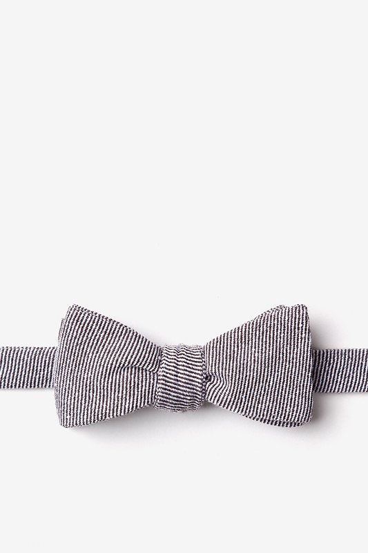 Hitchcock Brown Skinny Bow Tie Photo (0)