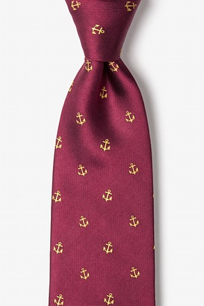 _What's the Holdup? Burgundy Tie_