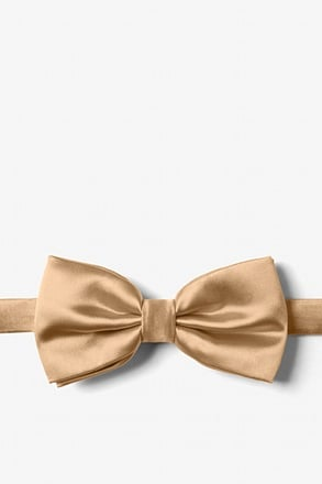 _Butterscotch Pre-Tied Bow Tie_