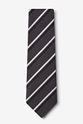 Beasley Charcoal Extra Long Tie Photo (1)