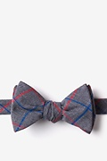 Charcoal Cotton Maricopa Self-Tie Bow Tie