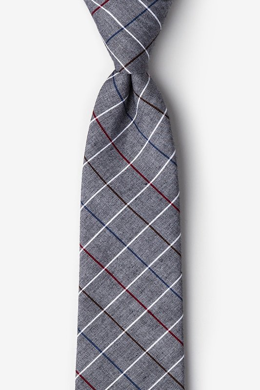 Seattle Charcoal Tie Photo (0)