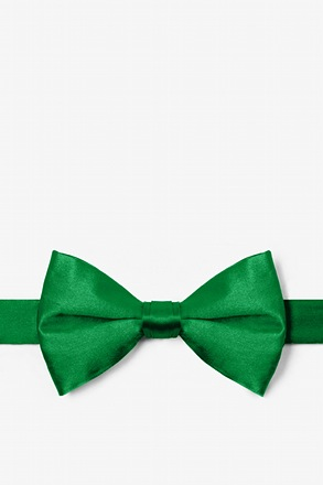 Christmas Green Pre-Tied Bow Tie