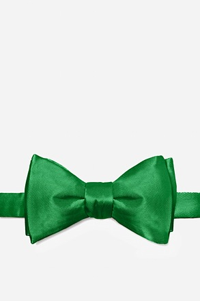 Christmas Green Self-Tie Bow Tie