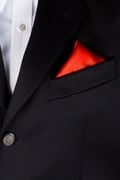 Christmas Red Pocket Square Photo (2)