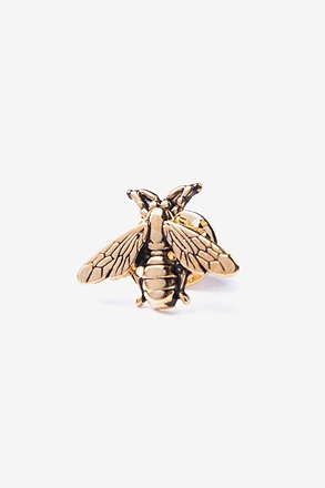 Bumblebee Gold Lapel Pin