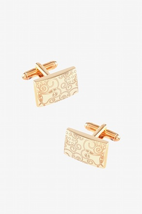Dreaming Illusions Gold Cufflinks