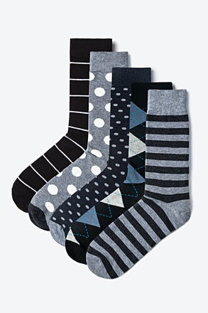 Einstein Gray Sock Pack