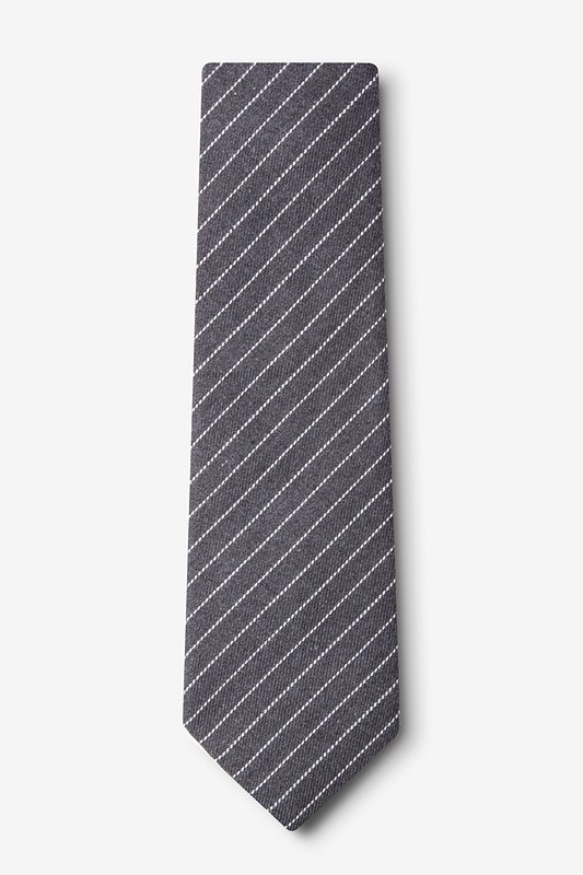 Lewisville Gray Extra Long Tie Photo (1)
